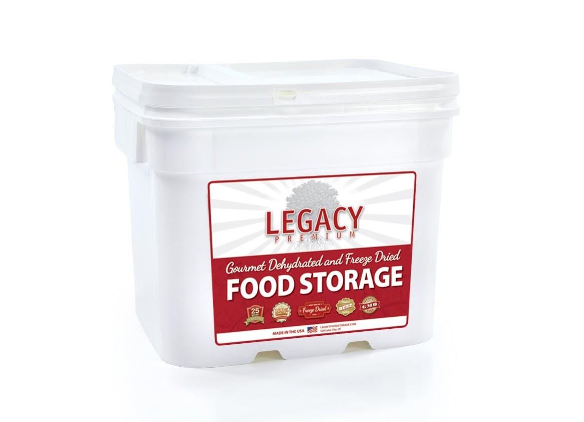 Legacy Survival Food Mega Sample Pack 183 Servings Survival Food Canada