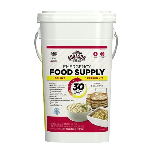 Augason Farms Deluxe 30 Day meal supply