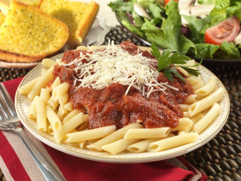 Italian Pasta With Marinara