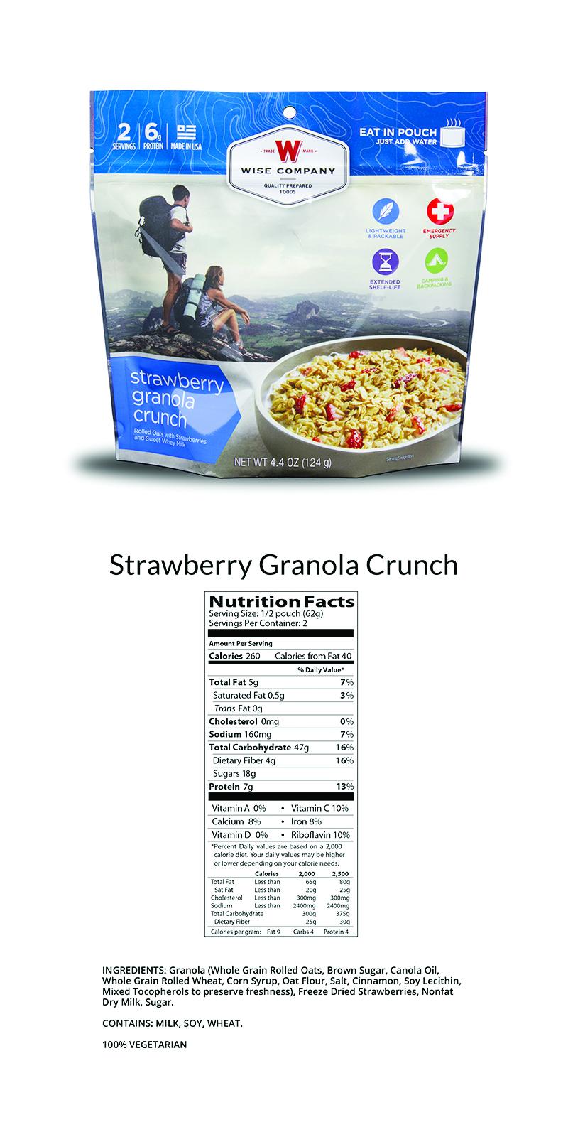 Strawberry Granola Crunch