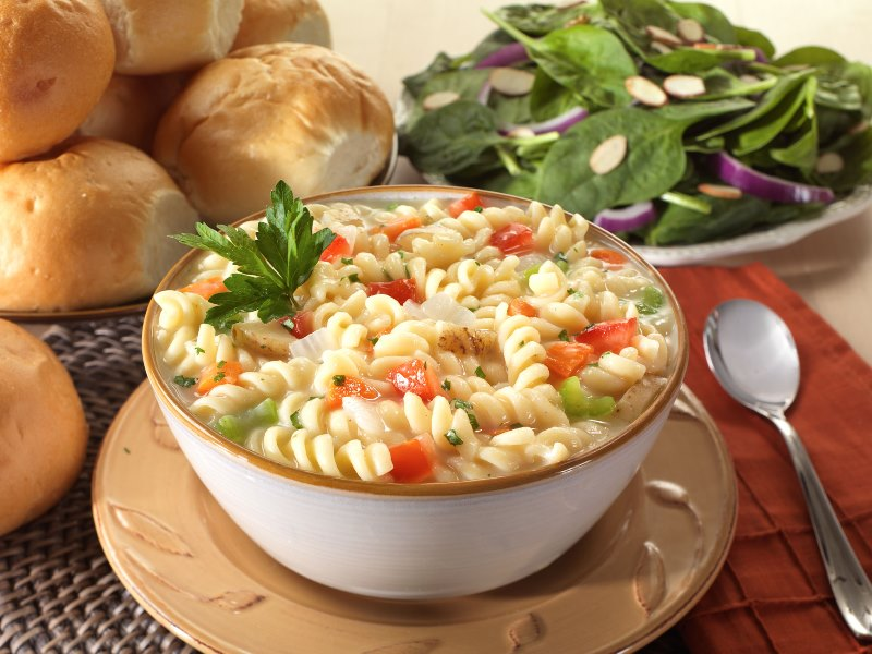 Vegetable and Rotini Pasta