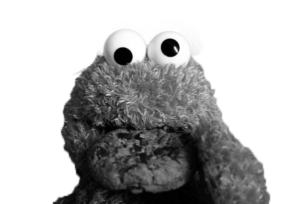 cookie_monster_b_w