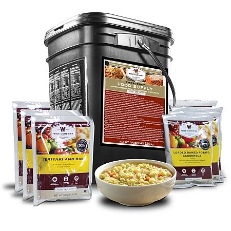 Wise Survival Food 120 Entree Bucket
